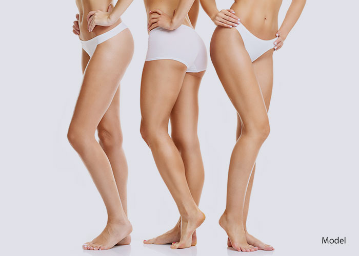 Lower body shot of women