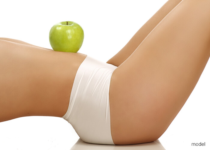 body with apple